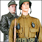 WWII Replica Uniforms U.S. German and Russian Camouflage