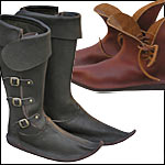 Accurate Living History Footwear for Reenactors Roman thru Renaissance Many Custom Made!