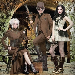 Steampunk, Gothic, and Fantasy fashion and accessories
