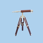 "Brass/Wood Harbor Master Telescope 30"" 143-ST-0136 - wood"