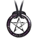 Seal of the Sephiroth Necklace Pewter Alchemy P497