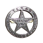 Texas Ranger Replica Badge OD102