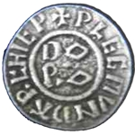 Medieval Coin Button 107.0712