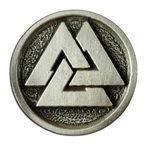 Viking Valknut Button 107.1265