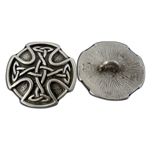 Celtic Cross Button 107.1302