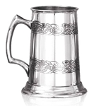 Heavy Gauge Avalon One Pint Pewter Tankard