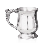 Georgian Thistle Handle One Pint Pewter Tankard