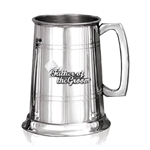 Father of The Groom Badge One Pint Pewter Tankard