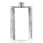 Celtic Tall Pewter Flask 8 Ounces