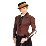 Ladies Winchester Corset Coat - Steampunk Coat 101469