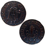Copper Penny of Balon Greyjoy 417-BG-GM06A