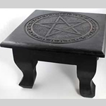 Large Square Pentagram Altar Table 45-RAT641P