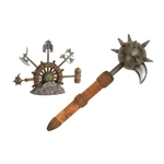 Conan the Destroyer: Miniature Spiked Mace of Bombaata by Marto