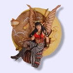 Steampunk Fairy Wall Plaque 64-SPF