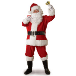 Legacy Santa Suit Adult Costume 100-147807