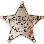 Arizona Rangers Western Badge OH3020
