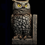 Owl Bookend Left Windstone Editions