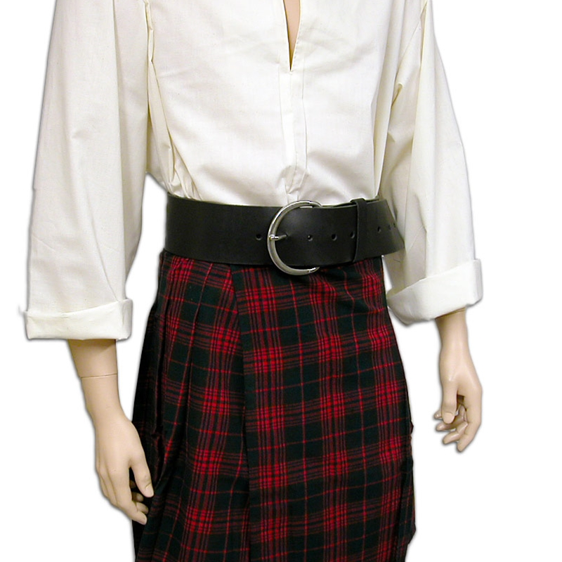 Santa Claus Belt 4 Inch Wide Leather BTS-2610