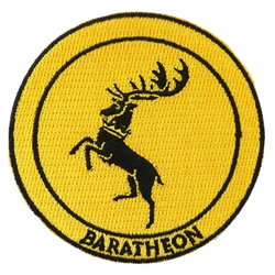 House Baratheon Embroidered Patch 21-112