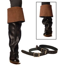 Leather Boot Garters