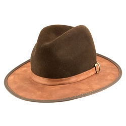 Summit Hat in Saddle